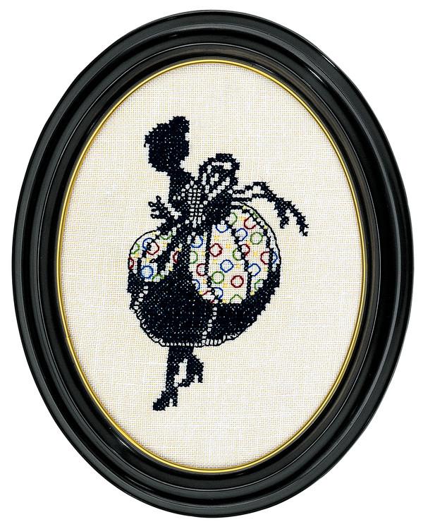Bild Damensilhouette