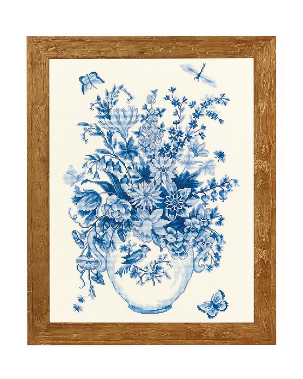 Bilde Blå blomster