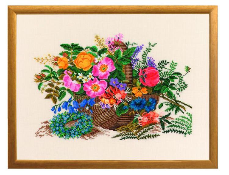 Bilde Blomsterkurv