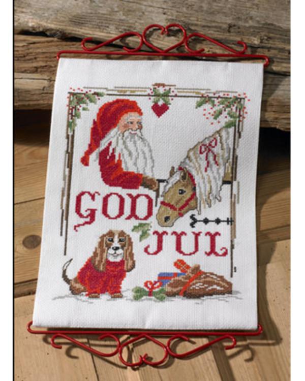 Veggteppe God Jul