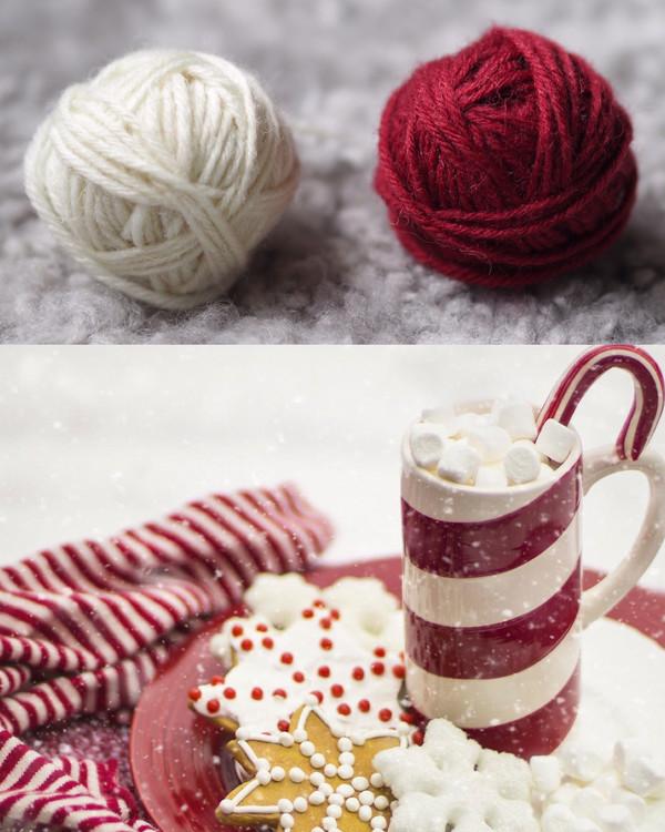 Garnpaket Järbo Knit-Along Julsockan