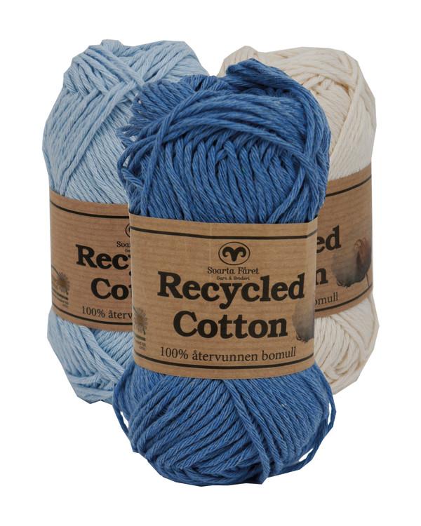 Garn Recycled Cotton