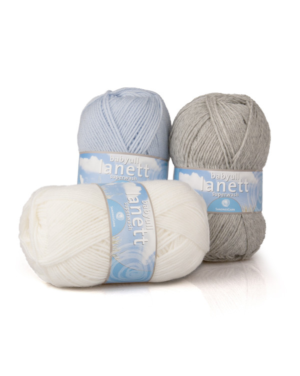Garn Lanett babyull Superwash