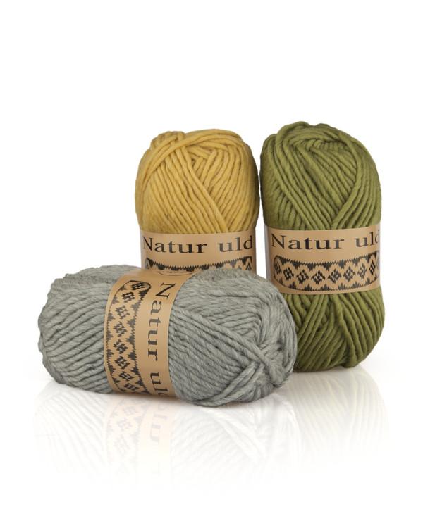Garn Natur uld