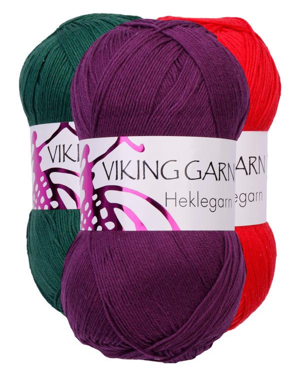 Garn Viking Virkgarn