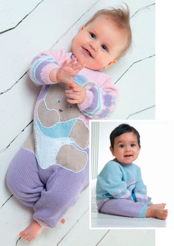 Strikkeoppskrift Babydress