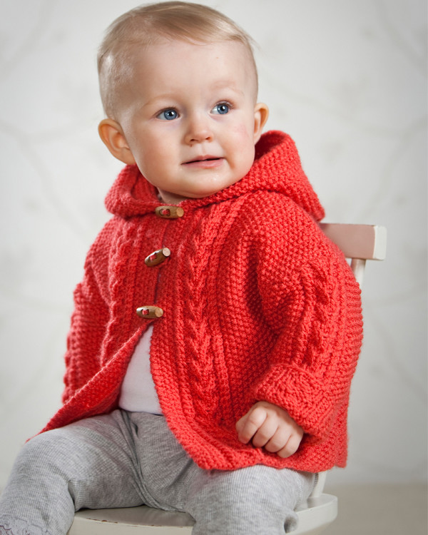 Neuleohje Vauvan takki