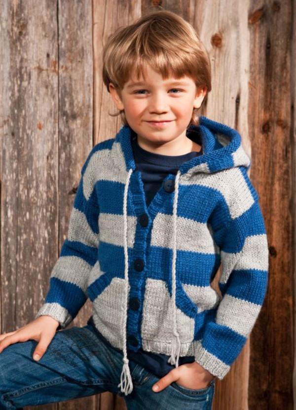 Munkejakke og genser