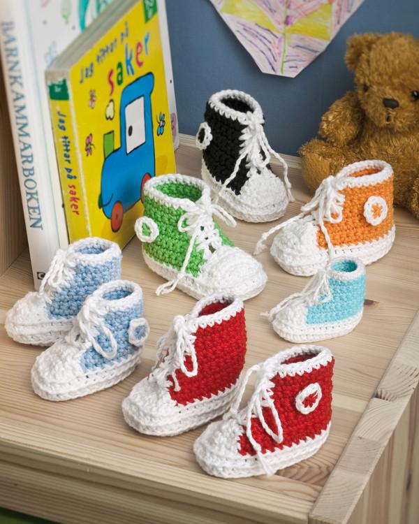 Babybasketstøvler