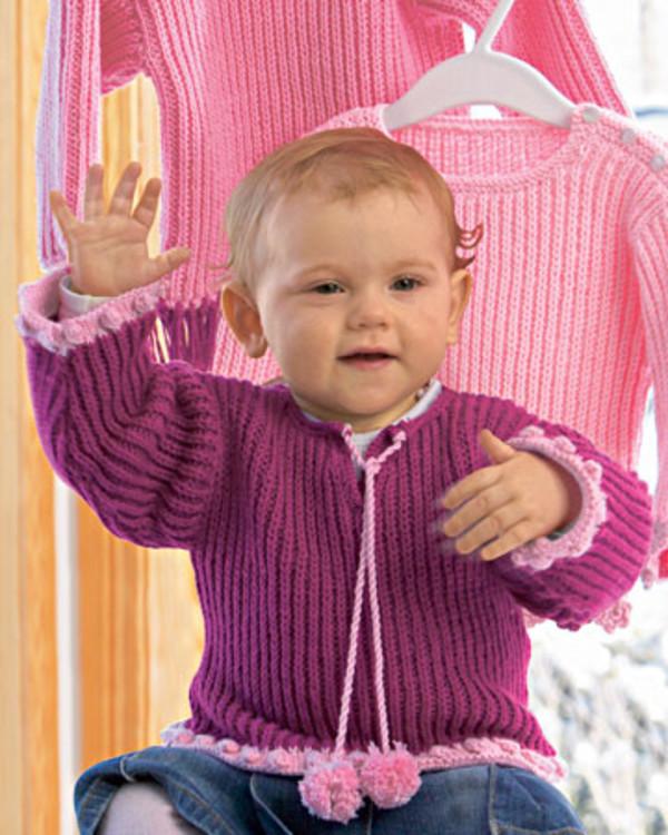 Neuleohje Pusero Vauvat/Lapset