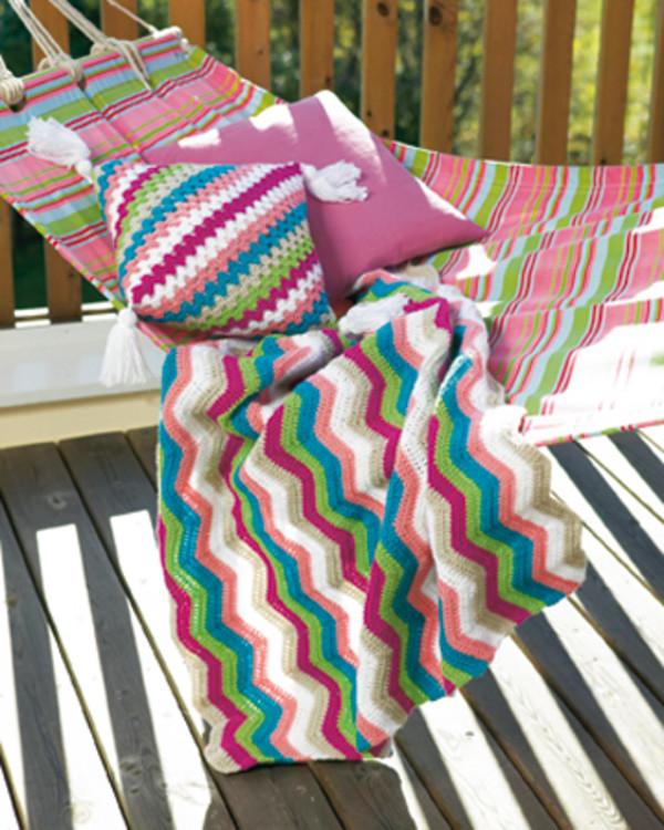 Virkkausohje Peitto/tyyny