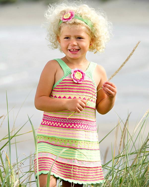Solklänning med hårband