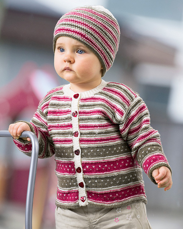 Babytrøje og hue