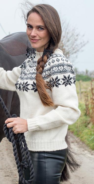 Sweater snehvid