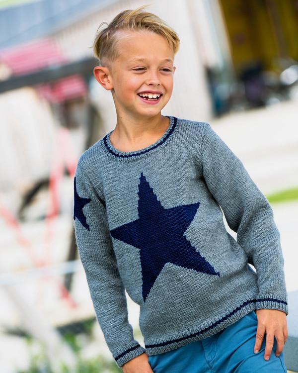 Børnebluse og sweater