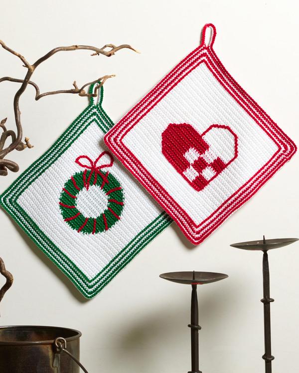 Grytkluter Julehjerte og Julekrans