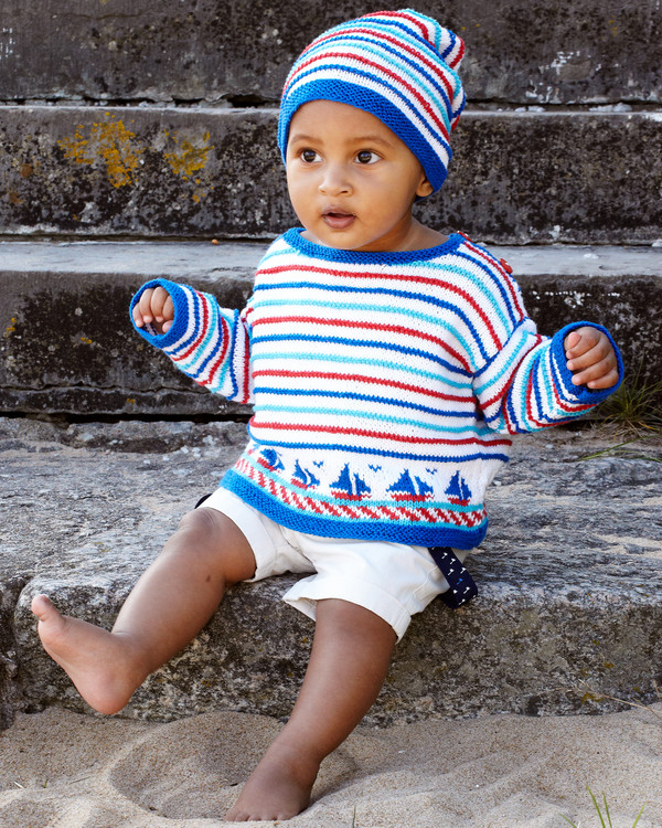 Babygenser og lue