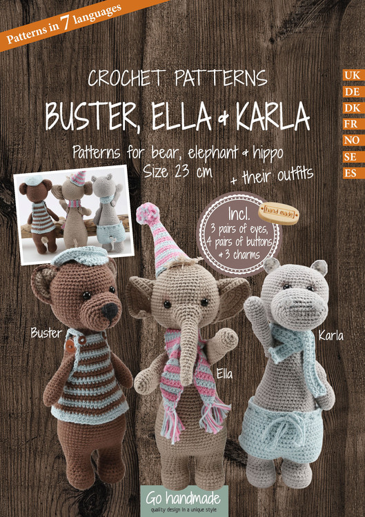 Pakke Buster, Ella & Karla