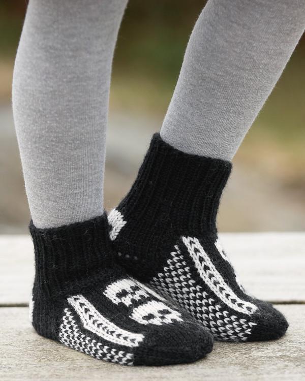 Sockor Mini Döskalle