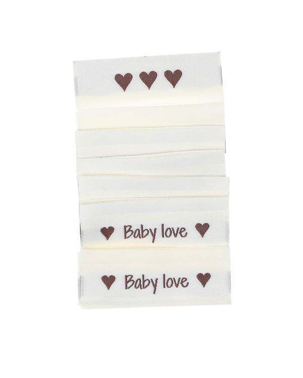 Tags Baby love 10-pk