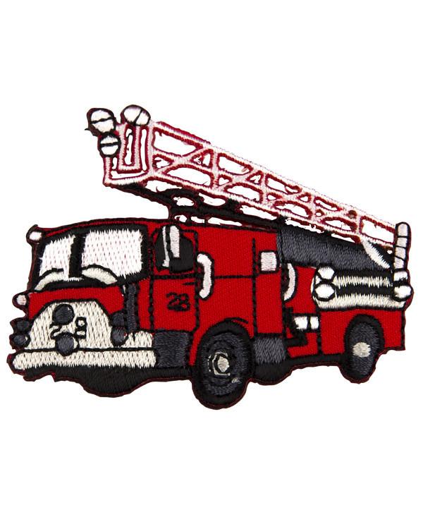 Tygmärke Brandbil