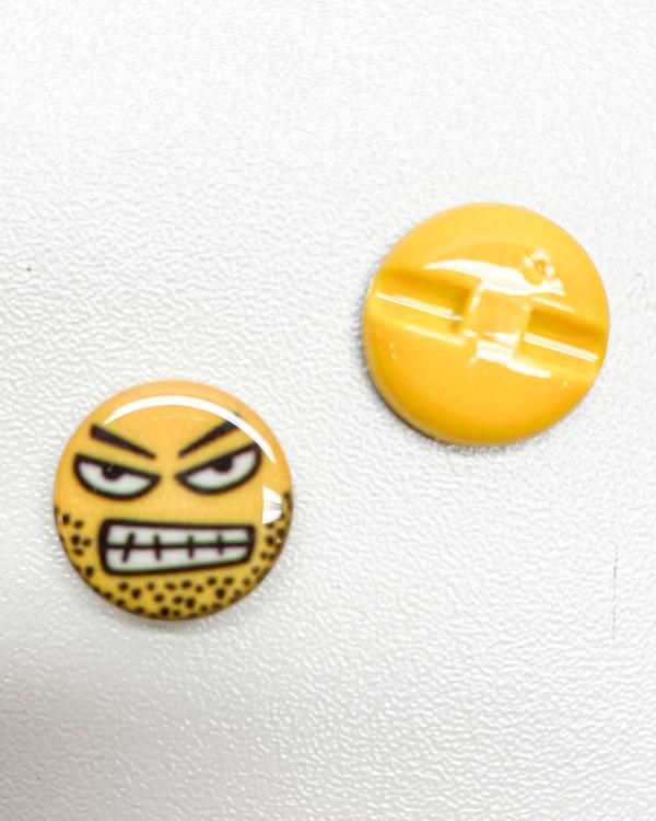 Knapp Emoji Arg 15 mm