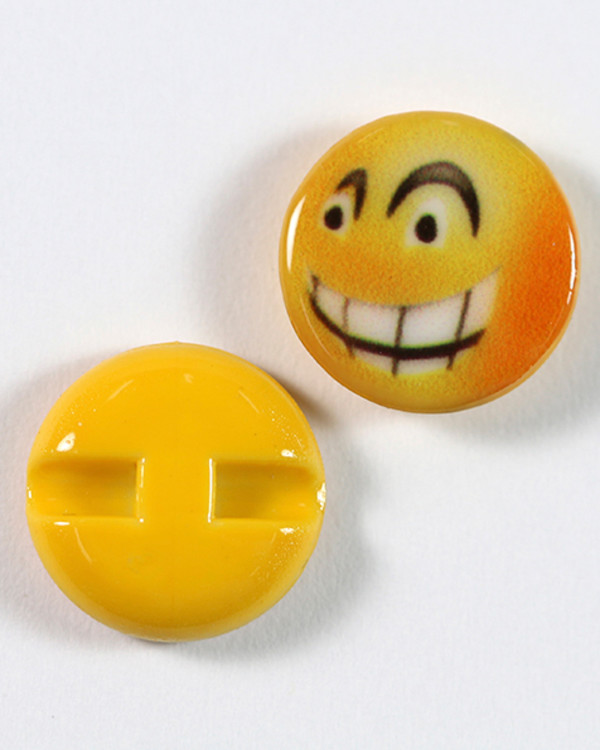 Knapp Emoji Lurig 15 mm