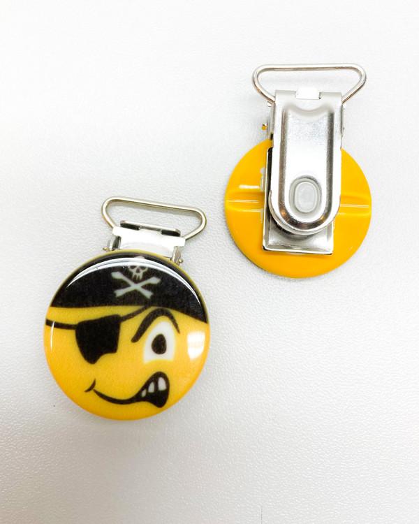 Clips Emoji Pirat 18 mm