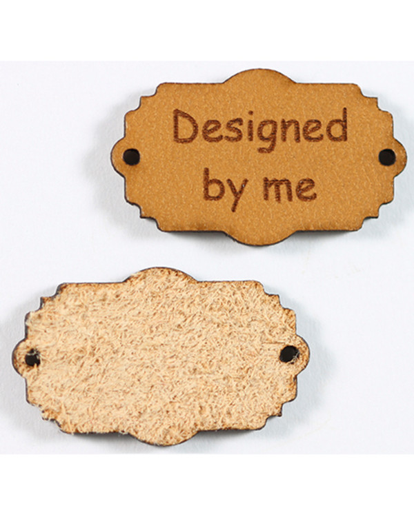 Lærtag Designed by me