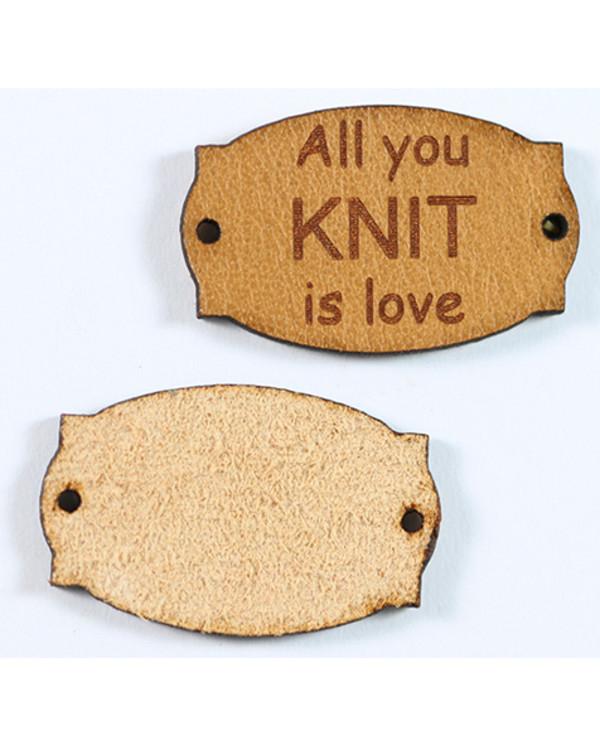 Lærtag All you knit