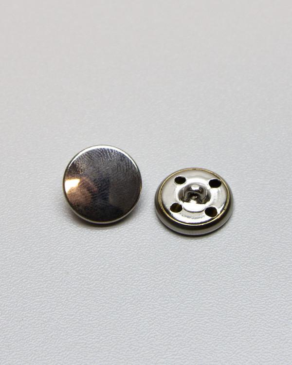 Knapp 15 mm sølv