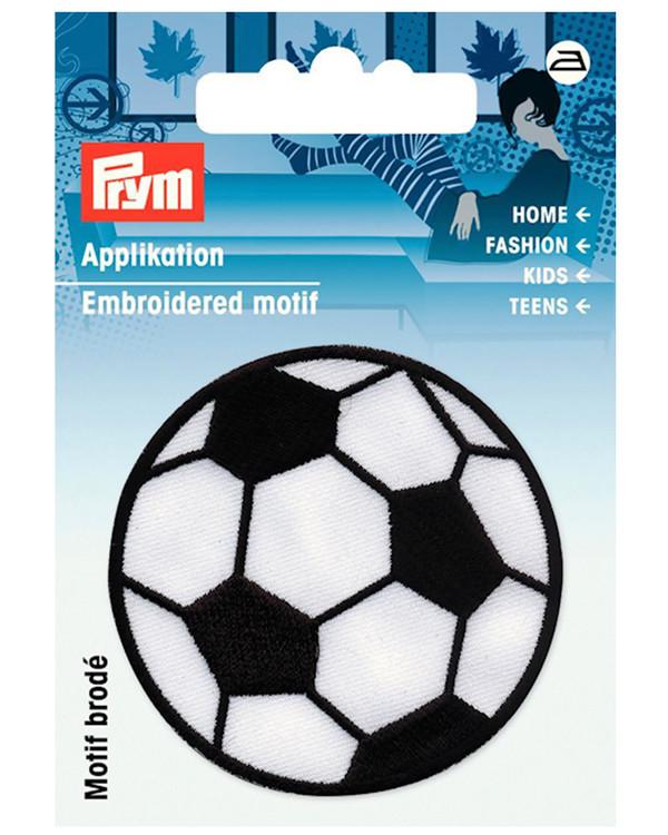 Tygmärke fotboll 5cm