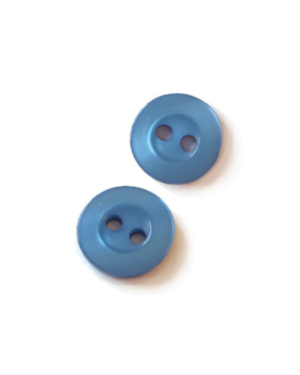Knapp blå 11 mm