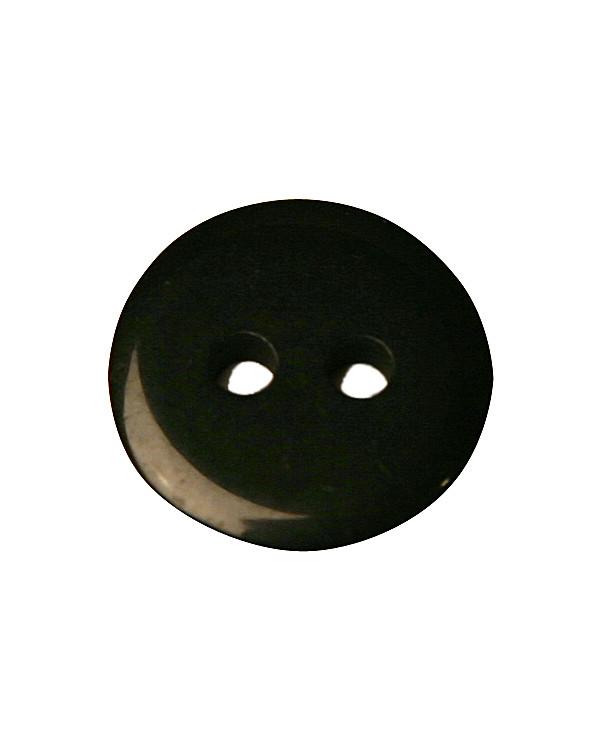 Knapp svart 12 mm