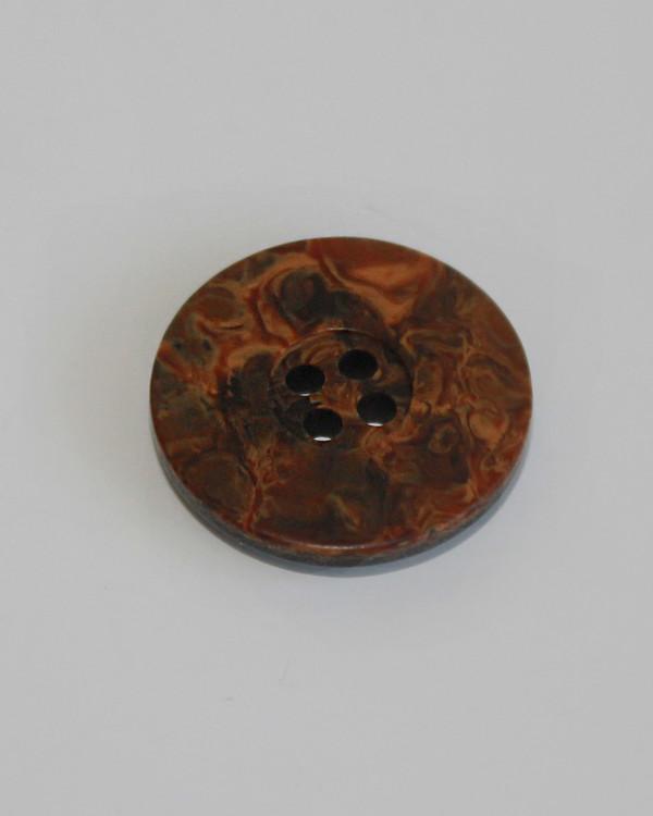 Nappi ruskea 20 mm