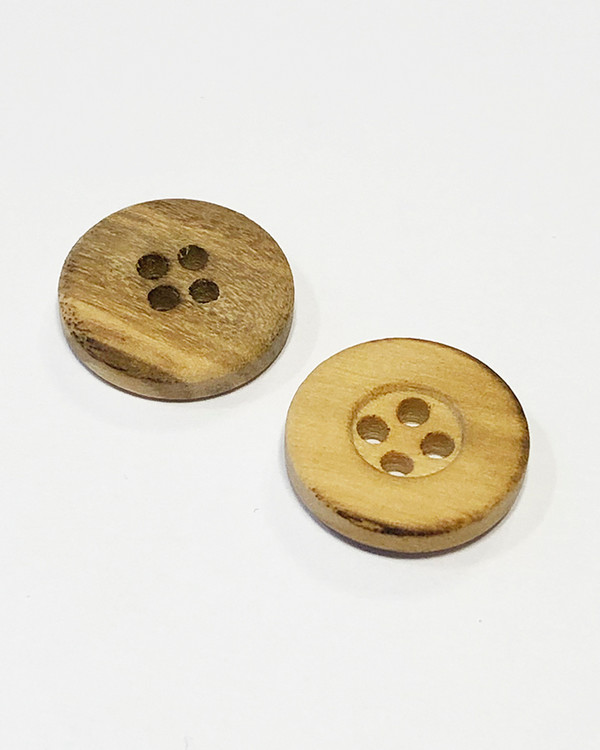 Knapp trä 15 mm