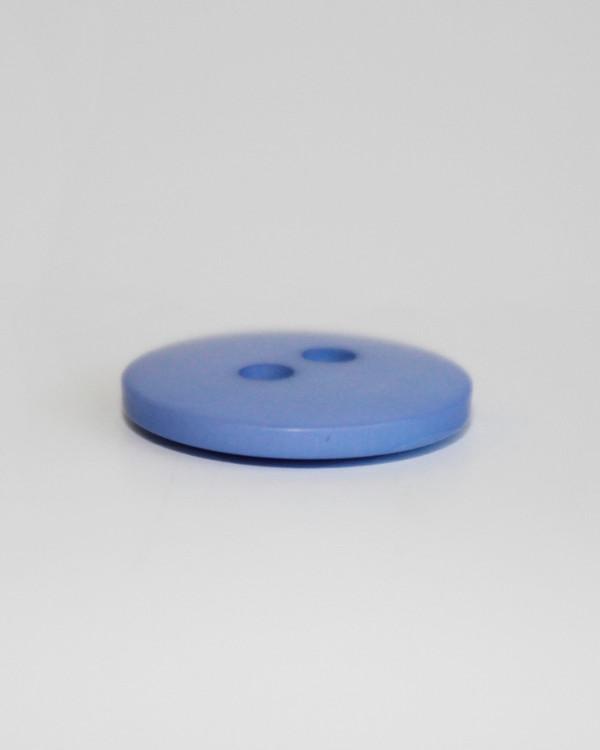Knapp ljusblå 15 mm
