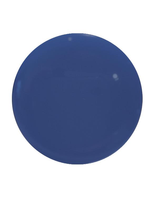 Knapp blå 18 mm
