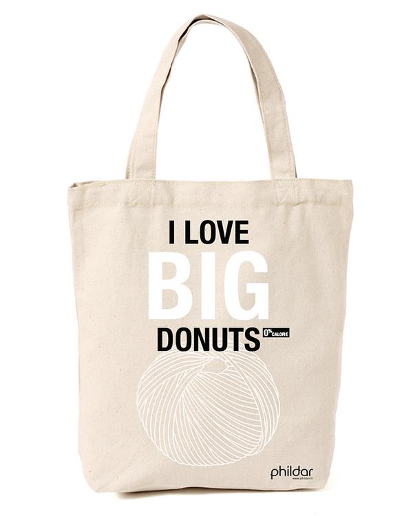 Stoffveske Donut