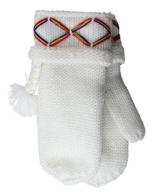 Lovikkavantar off-white