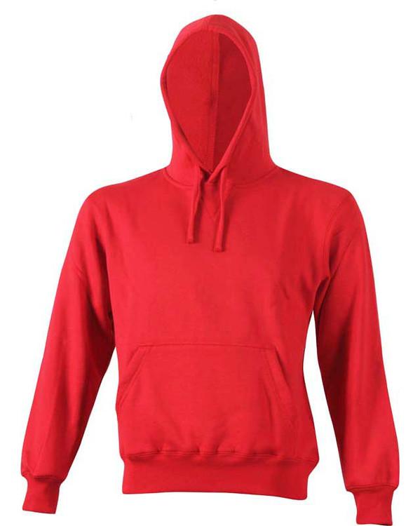 Hættetrøje/hoodie Rød