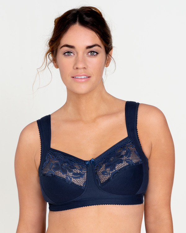 Bh utan bygel Lace Support