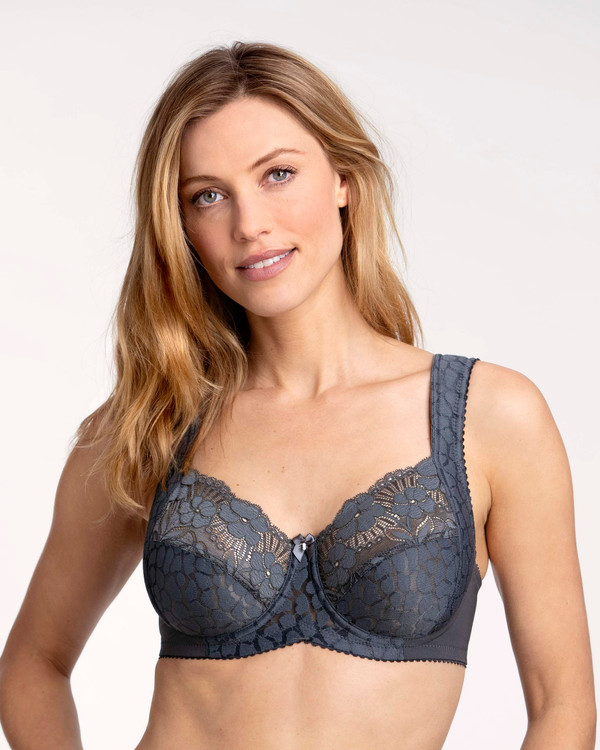 Miss Mary Bygel-bh Jacquard&Lace