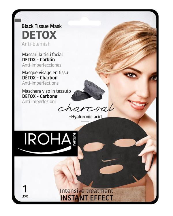 Ansigtsmaske tyg DETOX rensende
