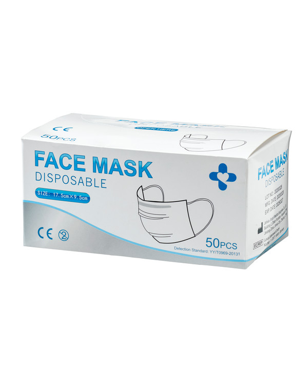 Munskydd 50-pack CE-märkt
