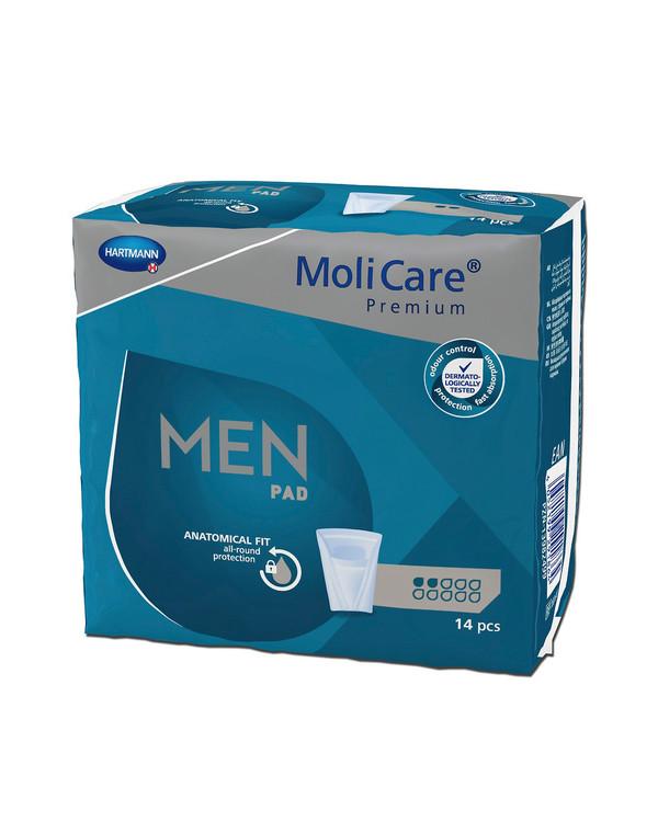 MoliCare Premium Men Pads 2 dråber