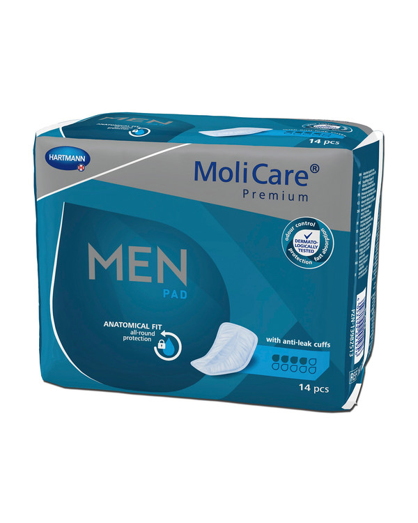 MoliCare Premium Men Pads 3 droppar