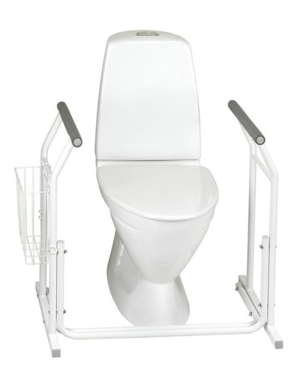 Toalettstöd fristående