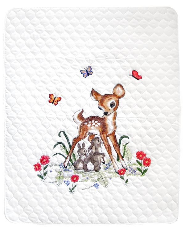Broderipakke Babyteppe Bambi