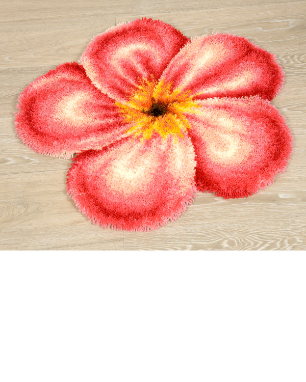 Ryamatta Rosa blomma